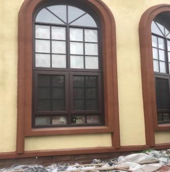 别墅门窗施工案例