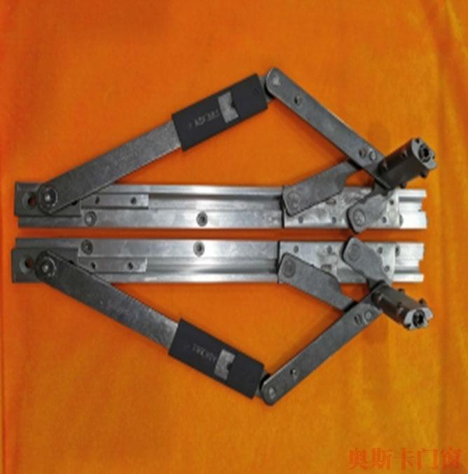 穿插式防坠铰链