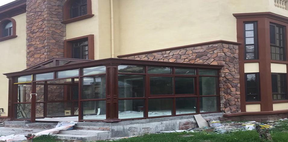 家庭门窗施工