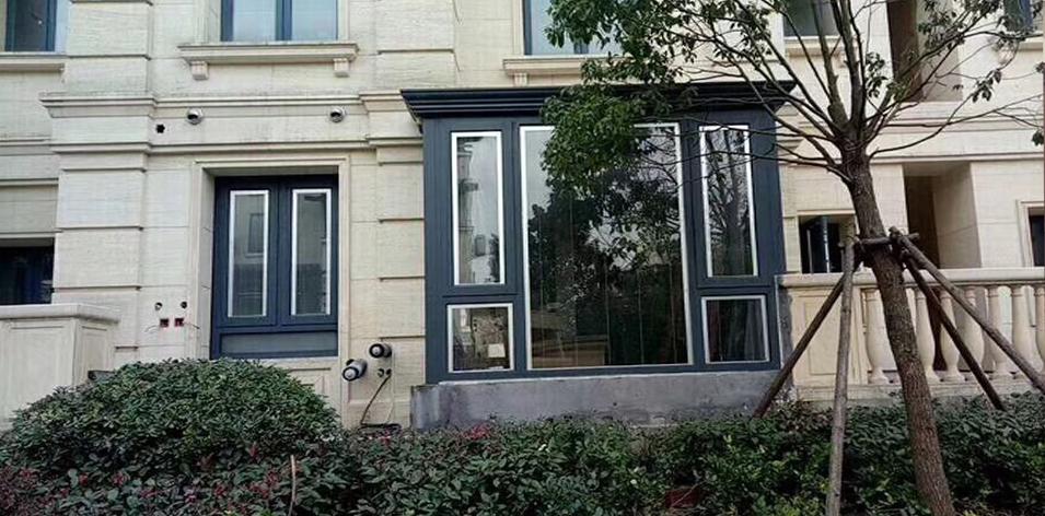 小区门窗施工案例